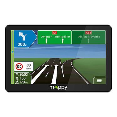 Mappy Maxi X795 Camp Europe GPS 46 pays d'Europe pour voiture et camping-car - Ecran 7'' - Kit main libre - Entrée caméra de recul - Guidage gabarit