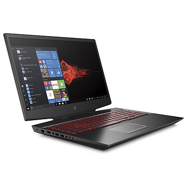 "HP OMEN 17-cb0034nf Intel Core i7-9750H 8 Go SSD 512 Go + HDD 1 To 17.3"" LED Full HD 144 Hz NVIDIA GeForce RTX 2070 8 Go Wi-Fi AC/Bluetooth Webcam Windows 10 Famille 64 bits"