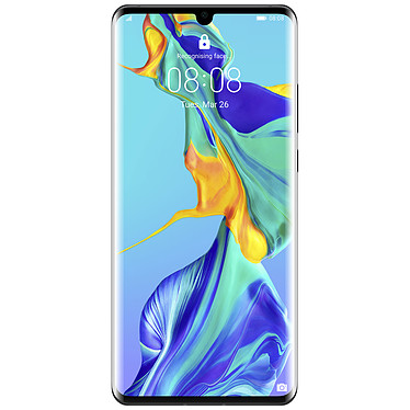 "Huawei P30 Pro Noir (8 Go / 128 Go) Smartphone 4G-LTE Advanced Dual SIM - Kirin 980 Octo-Core 2.6 GHz - RAM 8 Go - Ecran tactile OLED 6.47"" 1080 x 2340 - 128 Go - NFC/Bluetooth 5.0 - 4200 mAh - Android 9.0"