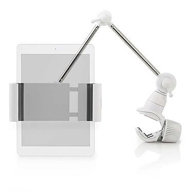 """Nedis Support pour tablettes Support pour tablettes de 7 à 12"""" - Montage mural - Rotation à 360 degrés - Pinces à ressort pour une tenue sécurisée"""