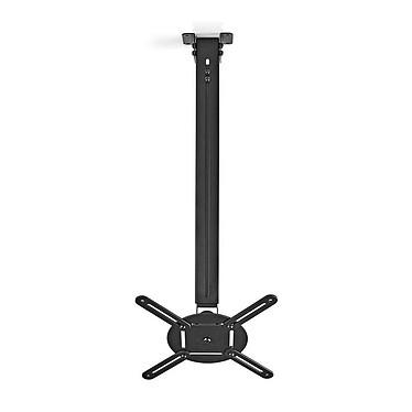 Nedis Support de plafond pour projecteur ajustable en hauteur Support de plafond pour projecteur - Orientable à 360 degrés - 10 kg maximum - Angles d'inclinaison -45/+45 degrés
