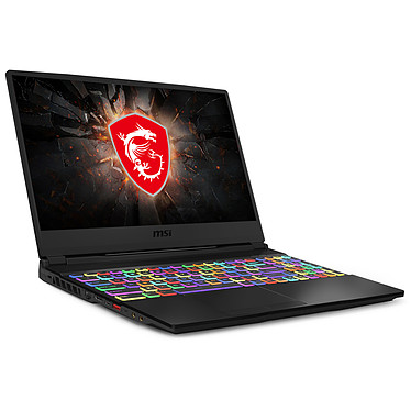 "MSI GE65 Raider 9SE-043FR Intel Core i7-9750H 16 Go SSD 512 Go + HDD 1 To 15.6"" LED Full HD 240 Hz NVIDIA GeForce RTX 2060 6 Go Wi-Fi AX/Bluetooth Webcam Windows 10 Famille 64 bits"