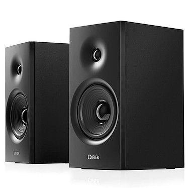 Edifier R1080BT Set d'enceintes multimédias - 24 W RMS -  Bluetooth 5.0 - Noir