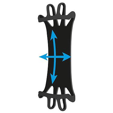 """Mobilis Universal Wrist Mount/Armband 4-6"""" Fixation pour poignet compatible smartphone de 4 à 6"""""""