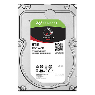 Avis Seagate IronWolf 6 To (ST6000VN0033)
