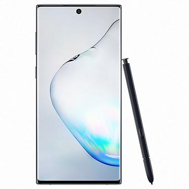 "Samsung Galaxy Note 10 SM-N970 Noir Cosmos (8 Go / 256 Go) Smartphone 4G-LTE Advanced IP68 Dual SIM - Exynos 9825 8-Core 2.7 Ghz - RAM 8 Go - Ecran tactile 6.3"" 1080 x 2280 - 256 Go - NFC/Bluetooth 5.0 - 3500 mAh - Android 9.0"