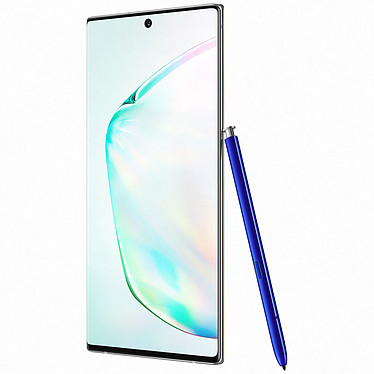 Avis Samsung Galaxy Note 10+ SM-N975 Argent Stellaire (12 Go / 256 Go)
