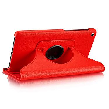 "Akashi Etui Folio Galaxy Tab A 10.1"" Rouge pas cher"