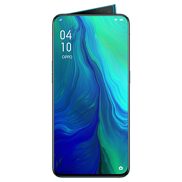 "OPPO Reno 10x Zoom Vert Smartphone 4G-LTE Advanced Dual SIM - Snapdragon 855 8-Core 2.8 GHz - RAM 8 Go - Ecran tactile 6.65"" 1080 x 2340 - 256 Go - Bluetooth 5.0 - 4065 mAh - Android 9.0"