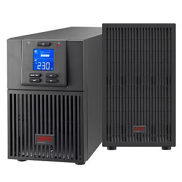 APC Easy-UPS SRV 3000VA + EBP Onduleur on-line double conversion 3 000 VA / 230 V avec 7 prises IEC (USB/Série/SmartSlot) + Bloc de batterie externe