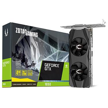 ZOTAC GAMING GeForce GTX 1650 LP 4 Go GDDR5 - HDMI/DisplayPort/DVI - PCI Express (NVIDIA GeForce GTX 1650)