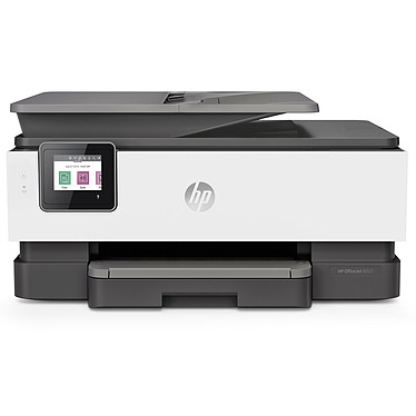 HP OfficeJet Pro 8022 Imprimante Multifonction jet d'encre couleur 4-en-1 (USB 2.0 / Ethernet / Wi-Fi / AirPrint)