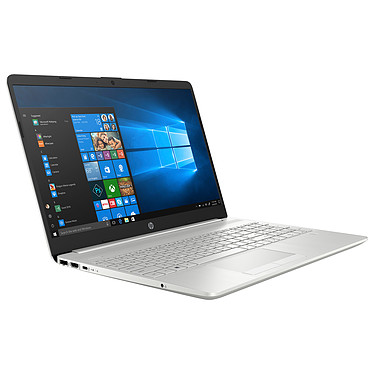 "HP 15-dw0025nf Intel Core i3-8145U 4 Go SSD 256 Go + HDD 1 To 15.6"" LED Full HD Wi-Fi AC/Bluetooth Webcam Windows 10 Famille 64 bits"