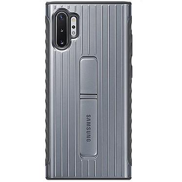Samsung Coque Renforcée Argent Galaxy Note 10+ Coque renforcée ultra-résistante pour Samsung Galaxy Note 10+