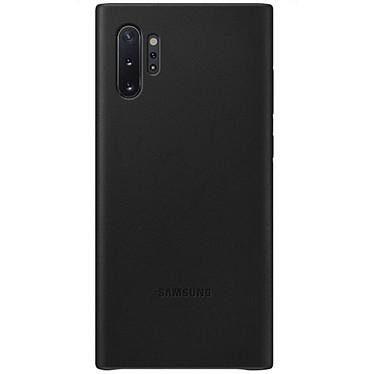 Samsung Coque Cuir Noir Samsung Galaxy Note 10+