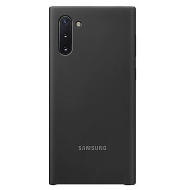 Samsung Coque Silicone Noir Galaxy Note 10 Coque en silicone pour Samsung Galaxy Note 10
