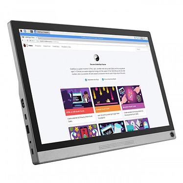 """Waveshare 15.6"""" tactile - 16549 1920 x 1080 pixels - Écran tactile - Format large 16/9 - Dalle IPS - HDMI / USB-C - Noir / Argent"""
