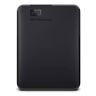 "WD Elements Portable 1 To Noir (USB 3.0) Disque dur externe 2.5"" sur port USB 3.0 / USB 2.0"