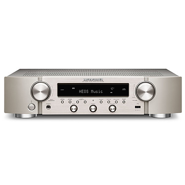 Marantz NR1200 Argent Ampli-tuner hi-fi slim stéréo - 75W/canal - Hi-Res Audio - FM/DAB+ - 5x HDMI 4K UHD HDCP 2.3 - HDR10/HLG - Multiroom - Wi-Fi/Bluetooth/AirPlay 2 - Amazon Alexa/Google Assistant