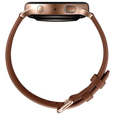 Avis Samsung Galaxy Watch Active 2 (44 mm / Acier / Or)