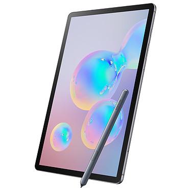 "Samsung Galaxy Tab S6 10.5"" SM-T860 256 Go Gris Wi-Fi Tablette Internet - Snapdragon 855 Octo-Core 2.8 GHz - RAM 8 Go - 256 Go - Écran Super AMOLED 10.5"" - Wi-Fi/Bluetooth - Webcam - 7040 mAh - Android 9.0"