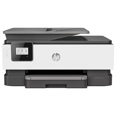 HP OfficeJet 8014 Tout-en-un Imprimante Multifonction jet d'encre couleur 3-en-1 (USB 2.0 / Wi-Fi / AirPrint)