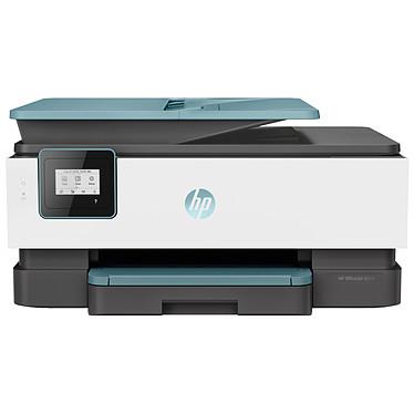HP OfficeJet 8015 Imprimante Multifonction jet d'encre couleur 3-en-1 (USB 2.0 / Wi-Fi / AirPrint) - Bleue