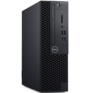 Dell OptiPlex 3070 SFF (V7332) Intel Core i5-9500 8 Go SSD 256 Go Graveur DVD Windows 10 Professionnel 64 bits (sans écran)