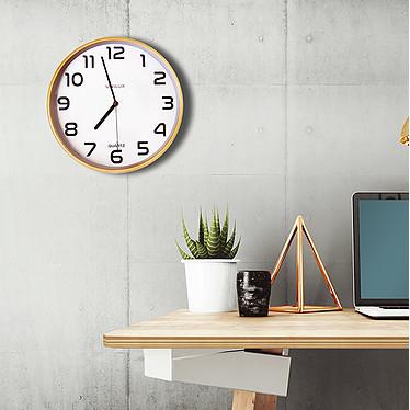 Avis Unilux Horloge Baltic Blanc/Bois