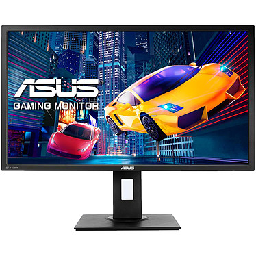 "ASUS 28"" LED - VP28UQGL 3840 x 2160 píxeles - 1 ms (gris a gris) - Formato ancho 16/9 - Panel TN - FreeSync - Pivote - DisplayPort - HDMI - Negro"