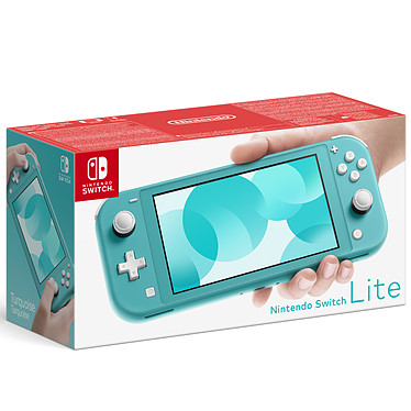 Nintendo Switch Lite (Turquoise) Console portable tactile