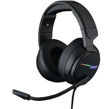 The G-Lab Thallium Micro-casque supra-auriculaire fermé USB pour gamers (Compatible PC et PS4) - son stéréo Xtra Bass / 7.1 Digital Surround - RGB - microphone anti-bruit