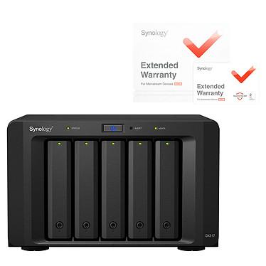 Synology DX517 avec extension de garantie 2 ans