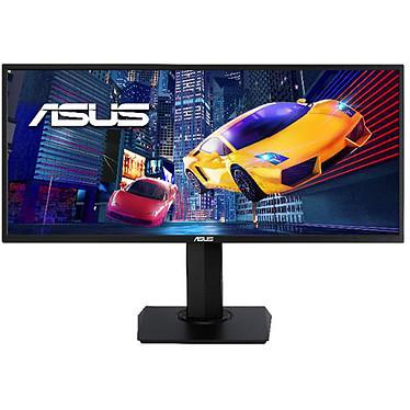 """ASUS 34"""" LED - VP348QGL 3440 x 1440 pixels - 4 ms (gris à gris) - Format large 21/9 - 75 Hz - FreeSync - HDR - DisplayPort - HDMI - Noir"""