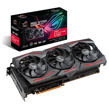 ASUS Radeon RX 5700 ROG-STRIX-RX5700-O8G-GAMING 8 Go GDDR6 - HDMI/Tri DisplayPort - PCI Express (AMD Radeon RX 5700)