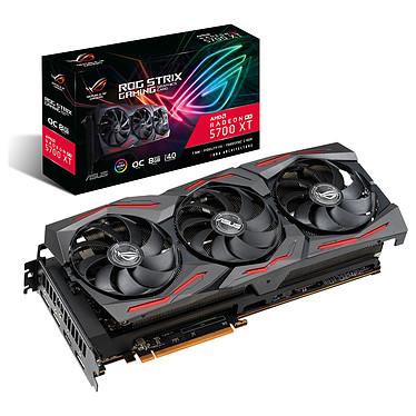 ASUS Radeon RX 5700XT ROG-STRIX-RX5700XT-O8G-GAMING 8 Go GDDR6 - HDMI/Tri DisplayPort - PCI Express (AMD Radeon RX 5700 XT)