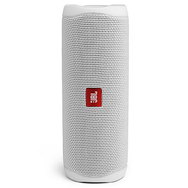 JBL Flip 5 Blanc Enceinte portable sans fil Bluetooth - 20 Watts - Etanche (IPX7) - Autonomie 12 heures
