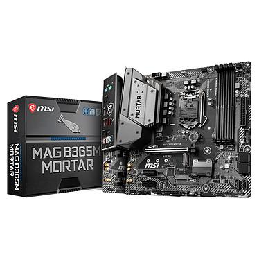 MSI MAG B365M MORTAR Carte mère Micro ATX Socket 1151 Intel B365 Express - 4x DDR4 - SATA 6Gb/s + M.2 - USB 3.0 - 1x PCI-Express 3.0 16x