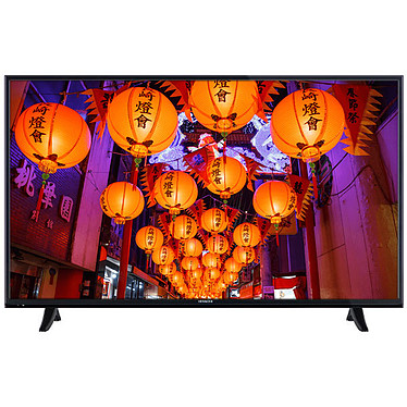 "Hitachi 43HK5000 Noir Téléviseur LED 4K 43"" (109 cm) 16/9 - 3840 x 2160 pixels - HDR - Ultra HD - Wi-Fi - 1200 Hz"