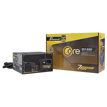 Seasonic CORE GM-650 80PLUS Gold Alimentation Semi-modulaire  650W ATX/EPS 12V - 80PLUS Gold