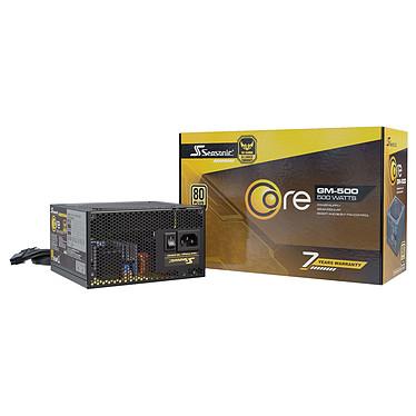 Seasonic CORE GM-500 80PLUS Gold Alimentation Semi-modulaire  500W ATX/EPS 12V - 80PLUS Gold
