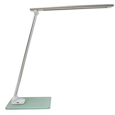 Unilux Popy Lampe de bureau LED pliable avec base en verre