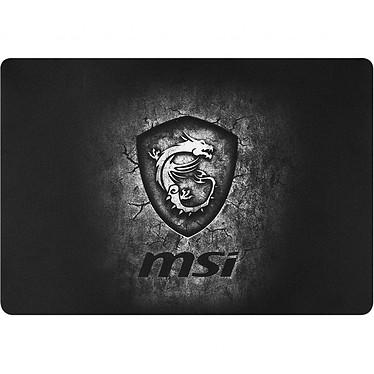 MSI Agility GD20 Tapis de souris gaming - souple - lisse - base antidérapante - dimensions 320 x 220 mm