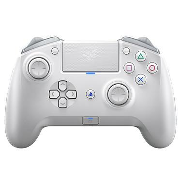Razer Raiju Tournament Edition (Mercury Edition) Manette de compétition sans fil avec touches méca-tactiles Razer et 4 touches multifonctions (compatible PlayStation 4 et PC)