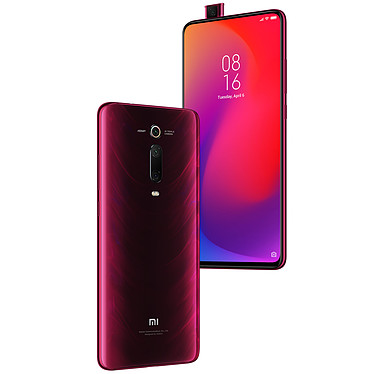 "Xiaomi Mi 9T Pro Rouge (64 Go) Smartphone 4G-LTE Advanced Dual SIM - Snapdragon 855 Octo-Core 2.84 GHz - RAM 6 Go - Ecran tactile AMOLED 6.39"" 1080 x 2340 - 64 Go - NFC/Bluetooth 5.0 - 4000 mAh - Android 9.0"