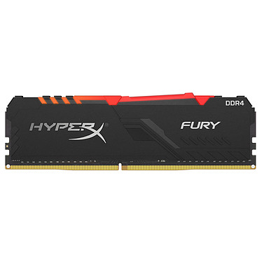 HyperX Fury RGB 16 Go DDR4 2400 MHz CL15 RAM DDR4 PC4-19200 - HX424C15FB3A/16