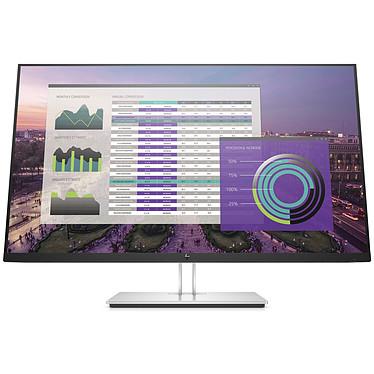 "HP 32"" LED - EliteDisplay E324q 2560 x 1440 pixels - 7 ms - Format large 16/9 - Dalle VA - HDMI / DisplayPort / USB-C - Argent / Noir"