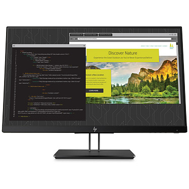 "HP 24"" LED - Z24nf G2 1920 x 1080 pixels - 5 ms - Format large 16/9 - Dalle IPS - HDMI / DisplayPort / VGA - Noir"