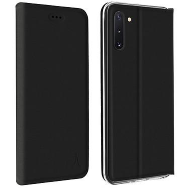 Akashi Etui Folio Porte Carte Noir Samsung Galaxy Note 10 Etui folio avec porte carte pour Samsung Galaxy Note 10