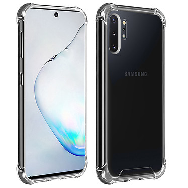 Akashi Coque TPU Angles Renforcés Samsung Galaxy Note 10+ Coque de protection transparente avec angles renforcés pour Samsung Galaxy Note 10+